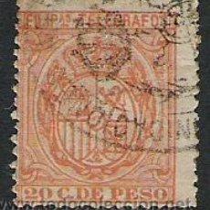 Sellos: 0738-SELLOS TELEGRAFOS COLONIA DE ESPAÑA FILIPINAS 1896 Nº 64. Lote 27903172