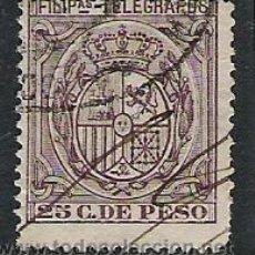Sellos: 0739-SELLOS TELEGRAFOS COLONIA DE ESPAÑA FILIPINAS 1896 Nº 65. Lote 27903185