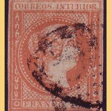 Sellos: FILIPINAS 1862 ISABEL II, EDIFIL Nº 10 (O). Lote 28465427