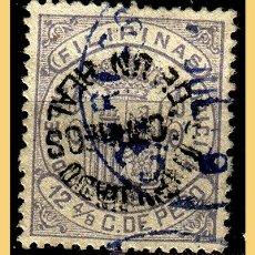 Sellos: FILIPINAS 1881 ALFONSO XII, TIPO VI, EDIFIL Nº 66APHI (O) VARIEDAD. Lote 28556105