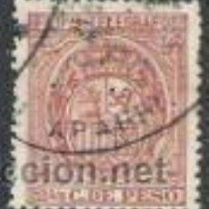 Sellos: 884-SELLO CLASICO FILIPINAS COLONIA DE ESPAÑA TELEGRAFOS 1894.Nº49,PHILIPPINES. Lote 30574884