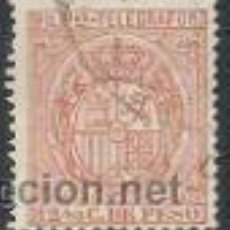 Sellos: 888-SELLO CLASICO FILIPINAS COLONIA DE ESPAÑA TELEGRAFOS 1896.Nº63,PHILIPPINES. Lote 30574906