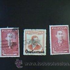 Sellos: LOTE 3 SELLOS PILIPINAS. Lote 38018531