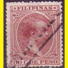 Sellos: FILIPINAS 1896 ALFONSO XIII, EDIFIL Nº 130 (O) . Lote 42722103