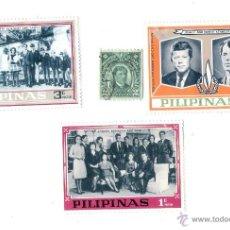 Sellos: CUATRO SELLOS DE FILIPINAS. Lote 43013309