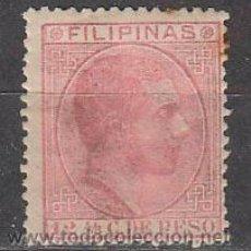 Francobolli: FILIPINAS EDIFIL 64, ALFONSO XII, NUEVO SIN SEÑAL DE CHARNELA. Lote 48284865