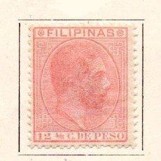 Sellos: FILIPINAS-1880/83-EDIFIL 64-12 4/8C.-ROSA-NUEVO. Lote 49710548