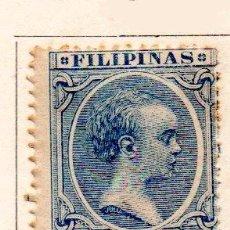 Sellos: FILIPINAS-1891/93-EDIFIL 104-25C.-AZUL-NUEVO. Lote 49711305