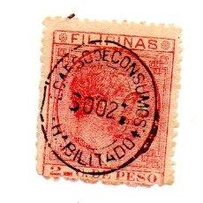 Sellos: FILIPINAS-1886/88-EDIFIL 2- 2CT.-CARMIN-NUEVO. Lote 49716764