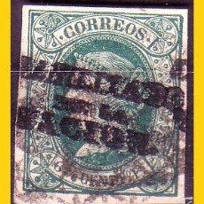Sellos: FILIPINAS 1869 HABILITADOS POR LA NACIÓN ISABEL II EDIFIL Nº 20N (O) . Lote 56973087