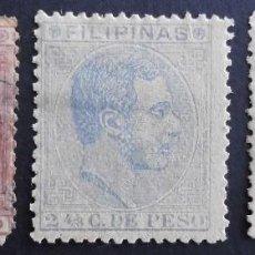 Sellos: FILIPINAS - ESPAÑA - DEPENDENCIAS POSTALES 1880 - 1883. Lote 68951857