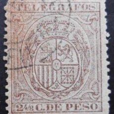 Sellos: FILIPINAS - ESPAÑA - DEPENDENCIAS POSTALES 1890 - TELEGRAFOS. Lote 68954661
