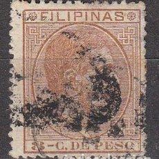 Sellos: FILIPINAS EDIFIL Nº 62, ALFONSO XII, USADO. Lote 87530996