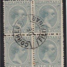 Sellos: ALFONSO XIII MATASELLOS CORREOS DE FILIPINAS. Lote 91479975