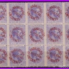 Sellos: FILIPINAS 1881 ALFONSO XII, HABILITADOS, EDIFIL Nº 66AY (*) B15. Lote 95824719