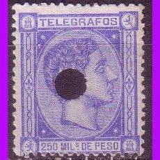 Sellos: TELÉGRAFOS FILIPINAS 1876 ALFONSO XII, EDIFIL Nº 2 (O) . Lote 95839347