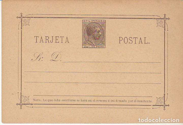 E,P.: XX 4 ALFONSO XII 1889. (Sellos - España - Dependencias Postales - Filipinas)