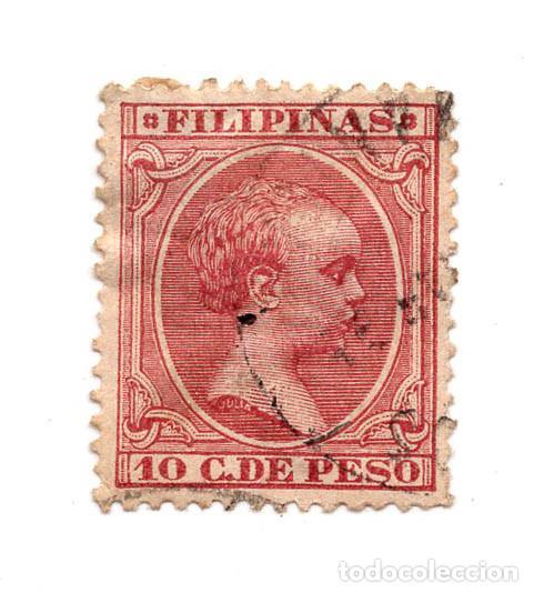 FILIPINAS 10 C. DE PESO (Sellos - España - Dependencias Postales - Filipinas)
