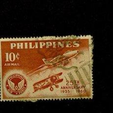Sellos: LOTE DE SELLOS ANTIGUOS USADOS DE FILIPINAS. Lote 109335055