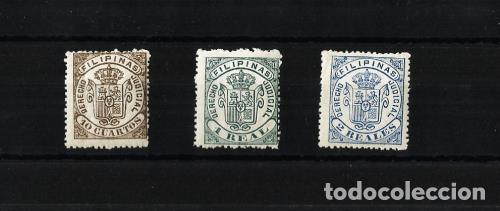 1881 - 1888 FILIPINAS - PHILIPPINES FISCAL DERECHO JUDICIAL MNH** (Sellos - España - Dependencias Postales - Filipinas)