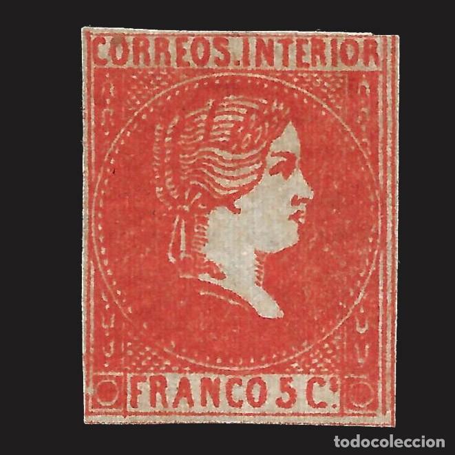 FILIPINAS.1861.ISABEL II.5 CU.NUEVO* EDIFIL.9 (Sellos - España - Dependencias Postales - Filipinas)