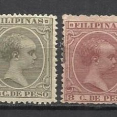 Sellos: 160-LOTE SELLOS AÑO 1894 CLASICOS FILIPINAS COLONIA ESPAÑOLA EN ULTRAMAR.ASIA . -LOT STAMPS YEAR 18. Lote 144255774