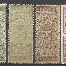 Sellos: 230A- SELLOS NUEVOS CLASICOS ISLAS FILIPINAS COLONIA ESPAÑOLA,DOMINIO ESPAÑA EN ULTRAMAR ASIA SE. Lote 145507090