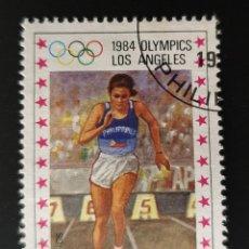 Sellos: FILIPINAS - OLYMPIC GAMES - LOS ANGELES, USA - 1984 - 20.00 P. Lote 146485498