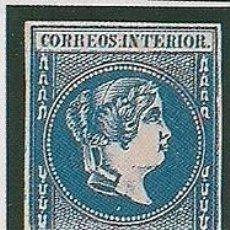 Sellos: FILIPINAS. ED. 14. 2 REALES AZUL 1863. RECORTE DE FOTOGRAMA PARA RELLENAR EN ÁLBUM. Lote 148670878