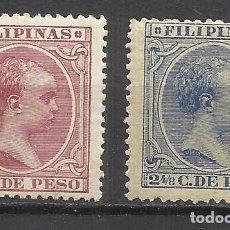 Sellos: 110- AÑO 1890 LOTE SELLOSCLASICOS FILIPINAS COLONIA ESPAÑOLA EN ULTRAMAR.ASIA .-LOT STAMPS CLAS. Lote 149712538