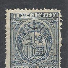 Sellos: TELEGRAFOS FILIPINAS 1894 EDIFIL 51 NUEVO* VALOR 2019 CATALOGO 3.20 EUROS . Lote 158270298