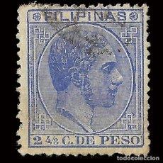 Sellos: FILIPINAS 1880-1883. ALFONSO XII. 2 4/8 CT. USADO. EDIFIL Nº59.. Lote 165426830