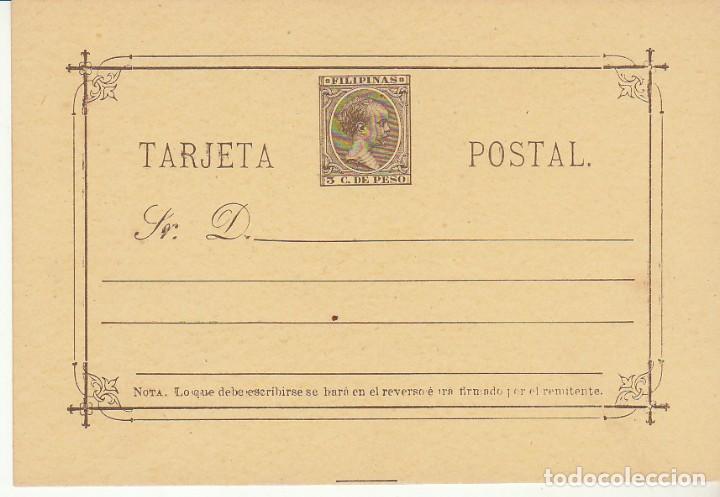 E.P.: XX 11 ALFONSO XIII. TIPO PELÓN. 1896 (Sellos - España - Dependencias Postales - Filipinas)