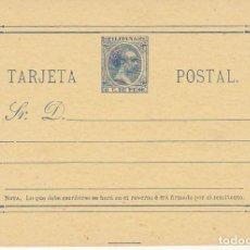 Sellos: E.P.: XX 10. ALFONSO XIII. TIPO PELÓN. 1896. Lote 169505204