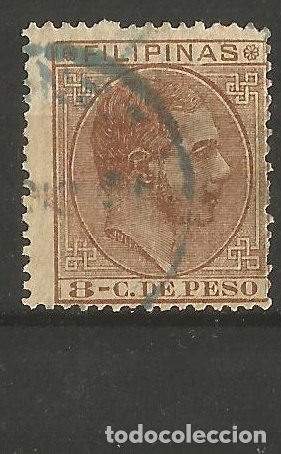 FILIPINAS EDIFIL NUM. 62 USADO (Sellos - España - Dependencias Postales - Filipinas)