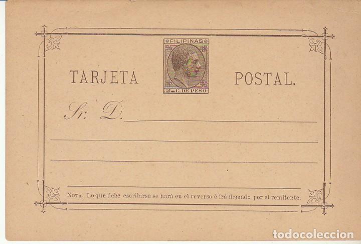 EP. XX 4 ALFONSO XII. 1889 (Sellos - España - Dependencias Postales - Filipinas)