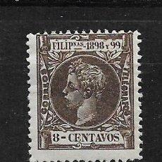 Sellos: FILIPINAS 1898 EDIFIL 142 * - 3/3. Lote 187214235