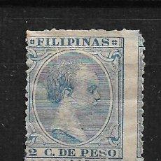 Sellos: FILIPINAS 1896 EDIFIL 116 - 3/3. Lote 187215051