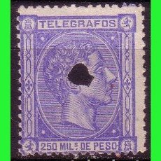 Sellos: FILIPINAS TELÉGRAFOS 1876 ALFONSO XII, EDIFIL Nº 3 (O). Lote 187512986