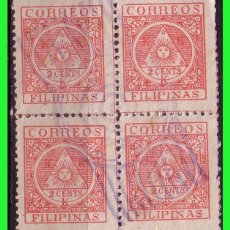 Sellos: FILIPINAS 1898 GOBIERNO REVOLUCIONARIO, EDIFIL Nº 4 B4 (O). Lote 187528605