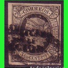 Sellos: FILIPINAS 1864 ISABEL II, HABILITADOS, EDIFIL Nº 20M (O). Lote 187594282