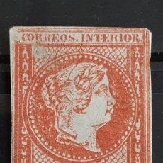 Sellos: FILIPINAS , EDIFIL 10 (*) , YVERT 10, 1862. Lote 199554712