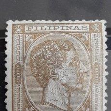 Francobolli: FILIPINAS , EDIFIL 50, VER, YVERT 48, 1878-79. Lote 199580586