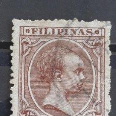 Selos: FILIPINAS , EDIFIL 113 , YVERT 134, 1894. Lote 199796267