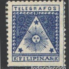Sellos: FILIPINAS, CORREO INSURRECTO, TELÉGRAFOS 1898-1899 EDIFIL Nº 1 (*). Lote 206834656