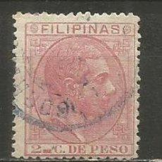 Sellos: FILIPINAS COLONIA ESPAÑOLA EDIFIL NUM. 57 USADO. Lote 235537290