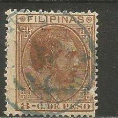 Sellos: FILIPINAS COLONIA ESPAÑOLA EDIFIL NUM. 62 USADO. Lote 235538175