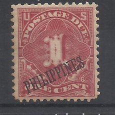 Timbres: FILIPINAS 1899 YVERT 1 TIMBRES-TAXE NUEVO* VALOR 2005 CATALOGO 7.50 EUROS. Lote 240772410
