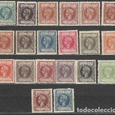 Timbres: FILIPINAS EDIFIL 131/150 AÑOS 1896-1897 ALFONSO XIII * NUEVOS CON CHARNELA. Lote 248051475