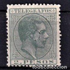 Sellos: SELLOS ESPAÑA 1881 FILIPINAS EDIFIL 6 EN USADO VALOR CATALOGO 5.5€. Lote 254731055